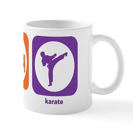 Eat Sleep Karate Mug