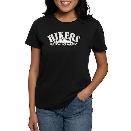 Hikers Do It Women's Dark T-Shirt