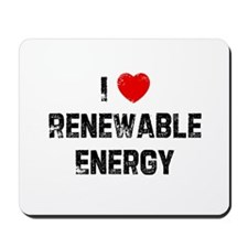 I * Renewable Energy Mousepad
