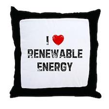 I * Renewable Energy Throw Pillow