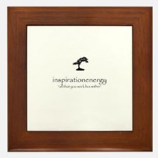 inspirationenergy logo Framed Tile