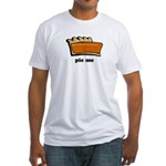 Thanksgiving- Pie Me Fitted T-Shirt