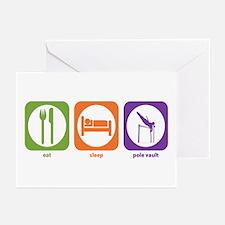 Eat Sleep Pole Vault Greeting Cards (Pk of 10)