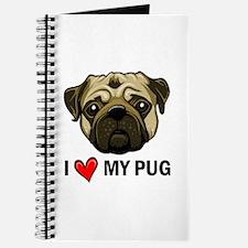 I Heart My Pug Journal