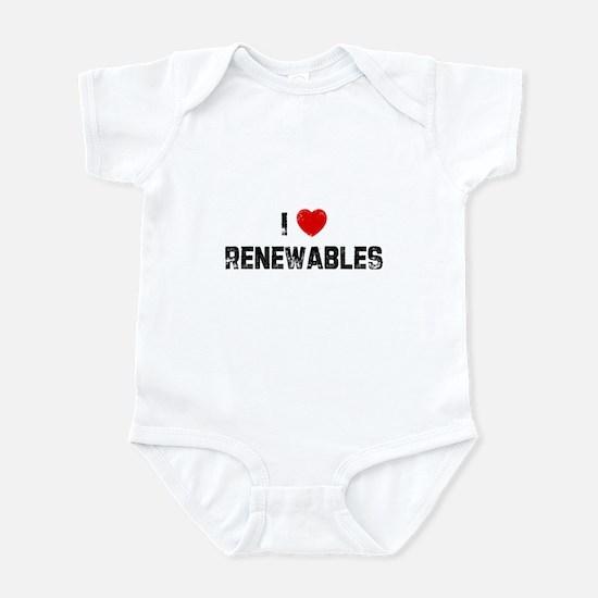 I * Renewables Infant Bodysuit