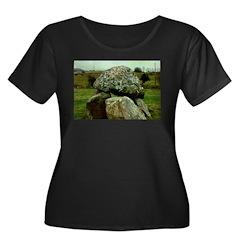 Carrowmore Dolmen Women's Plus Size Dark T-Shirt
