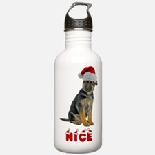 Nice German Shepherd Puppy Water Bottle