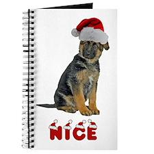 Nice German Shepherd Puppy Journal