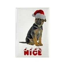Nice German Shepherd Puppy Rectangle Magnet