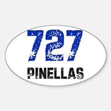 727 Oval Decal