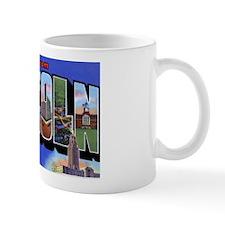 Lincoln Nebraska Greetings Mug