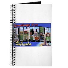 Lincoln Nebraska Greetings Journal