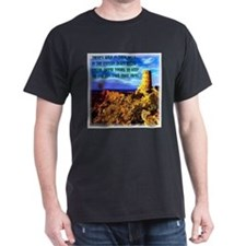 Watch Tower Red Moon on the Horizon T-Shirt