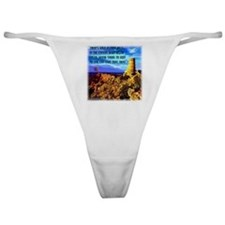 Watch Tower Red Moon on the Horizon Classic Thong