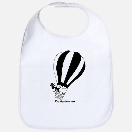 Kokopelli Hot Air Balloonist Bib