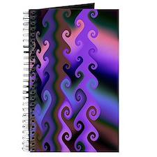 """""""Dawn 2"""" Fractal Art Journal"""