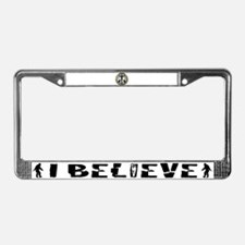 Pope Francis License Plate Frame