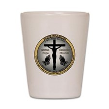 Pope Francis Shot Glass