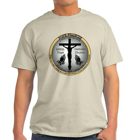 Pope Francis Light T-Shirt