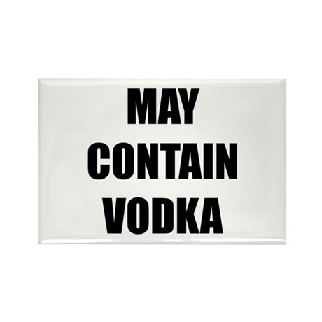 Contain Vodka Rectangle Magnet (100 pack)