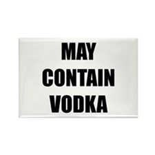 Contain Vodka Rectangle Magnet (10 pack)