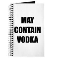 Contain Vodka Journal