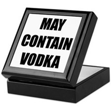 Contain Vodka Keepsake Box