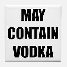 Contain Vodka Tile Coaster