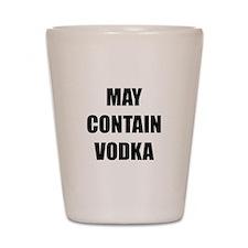 Contain Vodka Shot Glass