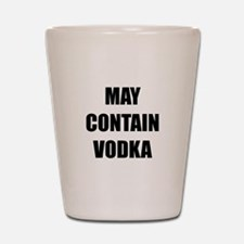 Contain Vodka Shot Glass