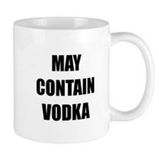 Contain Vodka Mug