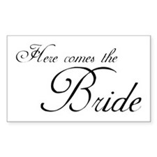 HCT Bride Rectangle Decal