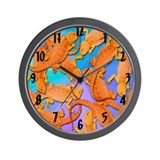 Bearded dragon Wall Clocks
