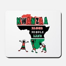 Kwanzaa (Blood, People, Land) Mousepad