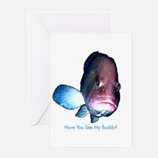Have You Seen My Buddy Greeting Cards (Package of