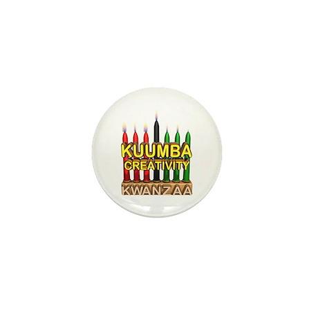 Kuumba (Creativity) Kinara Mini Button (100 pack)