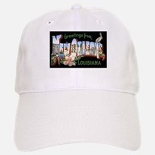 New Orleans Louisiana Greetings Baseball Baseball Cap