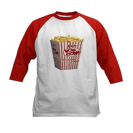 Kids Popcorn and Chili Dog Baseball Jersey