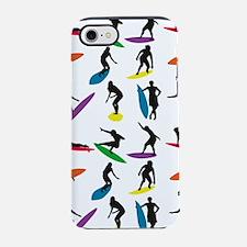Cool Surf Surfer design iPhone 7 Tough Case