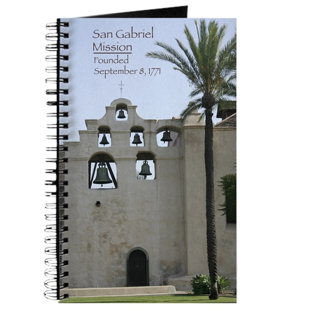 San Gabriel Mission Bell Tower Journal By Bleape