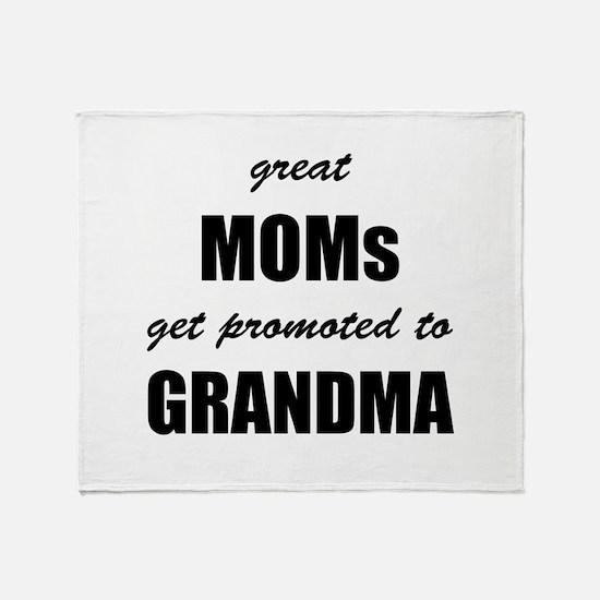 Great Moms Throw Blanket