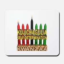 Kujichagulia (Self Determination) Kinara Mousepad