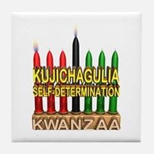 Kujichagulia (Self Determination) Kinara Tile Coas