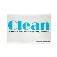 Clean Dishwasher Magnet