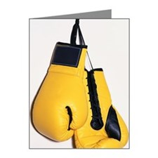 Boxing gloves Note Cards (Pk of 10)
