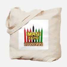 Imani (Faith) Kinara Tote Bag