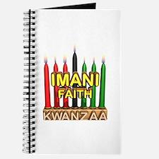 Imani (Faith) Kinara Journal