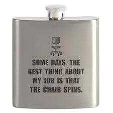 Job Chair Spins Flask