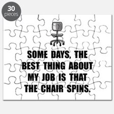 Job Chair Spins Puzzle