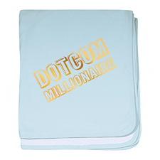 DOTCOM Millionaire baby blanket